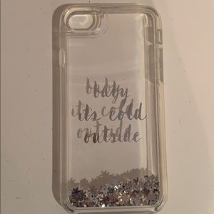 "iPhone 8 ""Baby it's Cold Outside"" Kate Spade case"